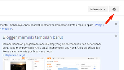 opsi template blogger